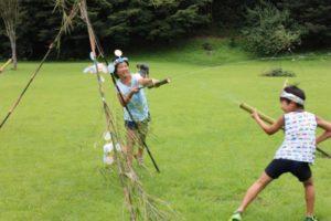 【藤枝市】竹の水鉄砲作りと秘密基地作り