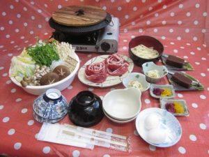 【浜松市】てんてんゴーしぶ川 懐かしの味『しし鍋』復活!