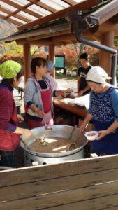 【川根本町】くのわき親水公園キャンプ場感謝祭『芋煮会』