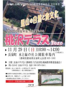 【長泉町】桃沢テラス2020 開催!