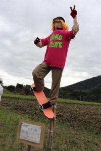 【富士宮市】柚野の里で「かかし祭り」開催中!